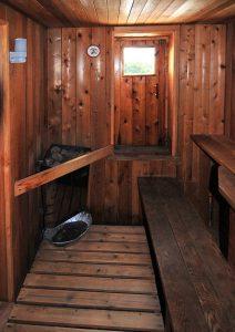 Sauna   Atlantic Villa